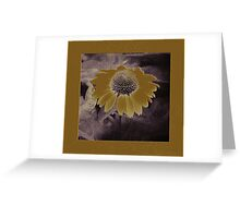 Whimsical Daisy Greeting Card