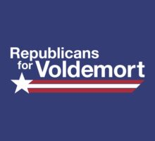 Republicans for Voldemort T-Shirt by thugvarys