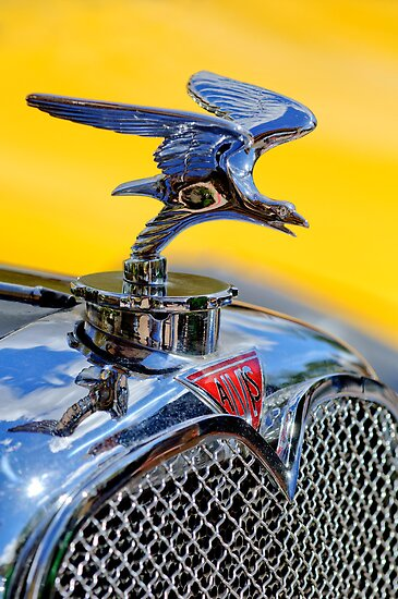 "1932 Alvis ""Speed Eagle"" Hood Ornament 1 by Jill Reger"