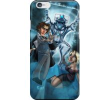 The Eighth Doctor & Lucie iPhone Case/Skin