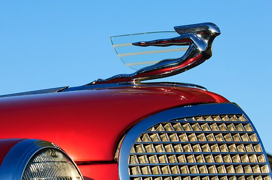 "1937 Cadillac ""Goddess"" Hood Ornament by Jill Reger"