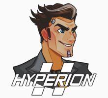 Handsome Jack Hyperion Logo from Borderlands 2 One Piece - Short Sleeve