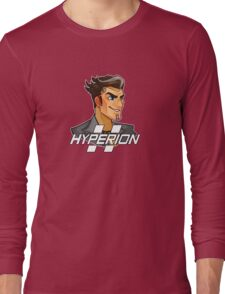 Handsome Jack Hyperion Logo from Borderlands 2 Long Sleeve T-Shirt