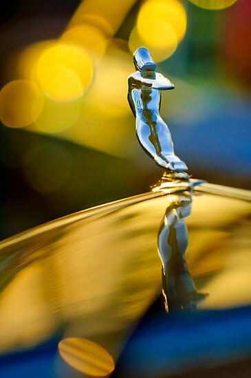 "1936 Cadillac ""Goddess"" Hood Ornament by Jill Reger"
