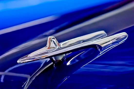 1955 DeSoto Hood Ornament by Jill Reger