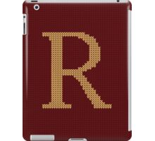 Weasley Sweater Letter R iPad Case/Skin