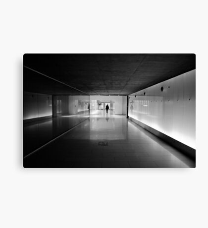 Urban Solitude Canvas Print
