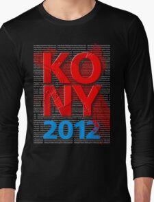 KONY 2012 Long Sleeve T-Shirt