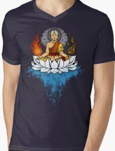 Enlightenment Mens V-Neck T-Shirt