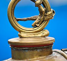 1912 Gobron-Brillie 12 CV Skiff Hood Ornament by Jill Reger
