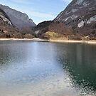 Lake Tenno, Italy by Finbarr Reilly