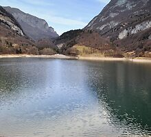 Lake Tenno, Italy by Finbarr Reilly