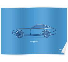 Design Lines - Toyota 2000GT Poster