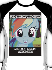 The longer you stare.. T-Shirt