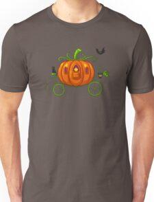 Pixel Pumpkin Carriage Unisex T-Shirt