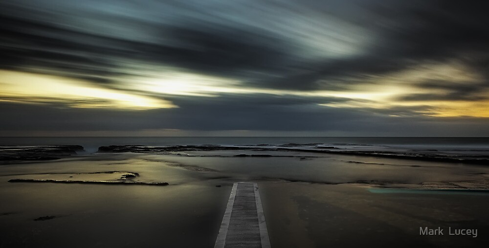 Surreal Narrabeen by Mark  Lucey