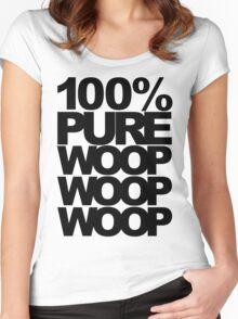 100% Pure Woop Woop Woop (light) Women's Fitted Scoop T-Shirt