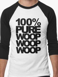 100% Pure Woop Woop Woop (light) Men's Baseball ¾ T-Shirt