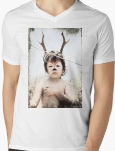 Forrest the fawn Mens V-Neck T-Shirt