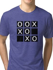 noughts and crosses Tri-blend T-Shirt