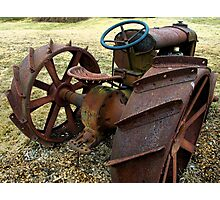 Bare Bones Rust Photographic Print