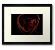 Fire Side 1f Framed Print