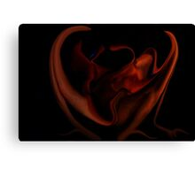 Fire Side 1f Canvas Print