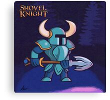 Shovel Knight Love Canvas Print