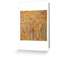 Layers of Weeds Greeting Card