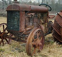 Fordson Tractor  by John  Kapusta