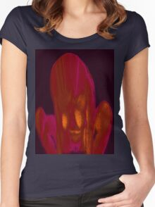 Fire Side 3a Women's Fitted Scoop T-Shirt