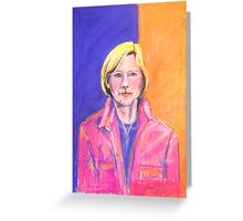 Portrait of Marianne # 2 Greeting Card