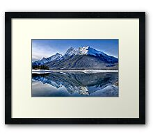 Spray Valley Provincial Park Framed Print