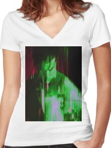 HULK Women's Fitted V-Neck T-Shirt