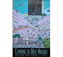 Climbing To New Heights Photographic Print