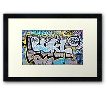 Colourful Language Framed Print