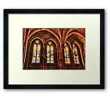 St. John's Windows Framed Print