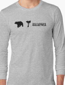 Bears, Beets, Battlestar Galactica Long Sleeve T-Shirt