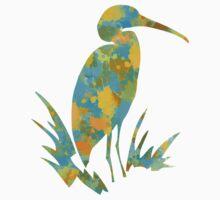 Stork Watercolor Kids Tee