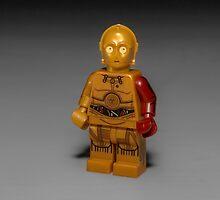 Red Arm C3PO by garykaz
