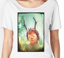 Forrest the Fawn 3 Women's Relaxed Fit T-Shirt