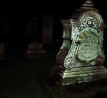 Ghost in the Cemetery by Phil Campus
