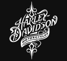 Beautiful Harley Davidson Logo - All White Logo by daeryk