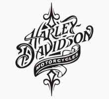 Beautiful Harley Davidson Logo - All Black Logo by daeryk