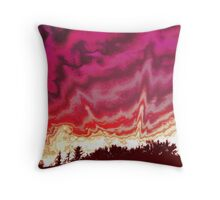 Nuclear Holocaust Throw Pillow