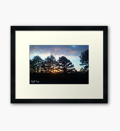 Plein Air Horizon Framed Print
