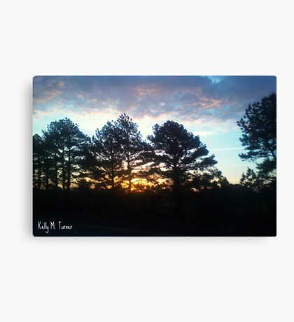 Plein Air Horizon Canvas Print