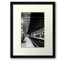 Subway Framed Print