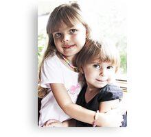 Siblings Canvas Print