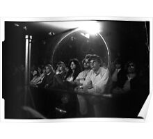 The crowd watching Jimi at the 03:05:69 show at Maple Leaf Gardens Poster